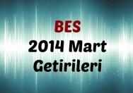 BES 2014 Yılı Mart Ayı Getirileri