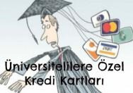 öğrencilere özel kredi kartı